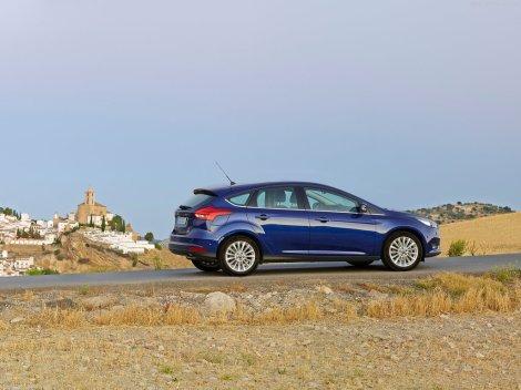 O preço do Ford Focus 1.5 TDCi 120 5 p Titanium é de 25.668 euros