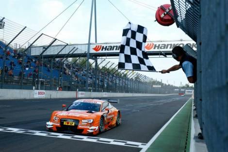 Jamie Green venceu as duas provas de Lausitzring
