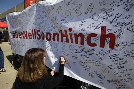 James Hinchcliffe já saiu do hospital e está a melhorar