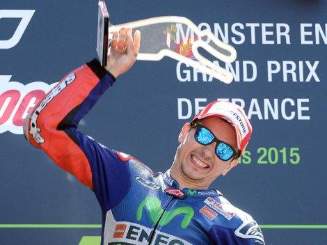 Jorge Lorenzo ganhou a segunda prova este ano no MotoGP