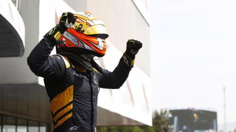 Alex Lynn ganhou em Barcelona a sua primeira corrida de GP2