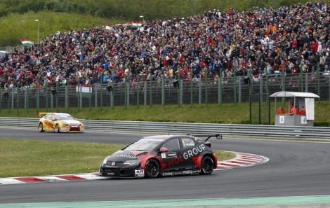 Norbert Michelisz ofereceu à Honda o primeiro triunfo do ano