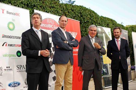 O Rali Banco BIC Guarda 2015 foi apresentado com a devida pompa e circunstância
