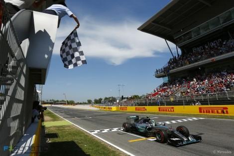 Nico Rosberg venceu em Espanha a sua primeira prova deste ano