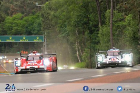 A Porsche regressou aos triunfos nas 24 Horas de Le Mans