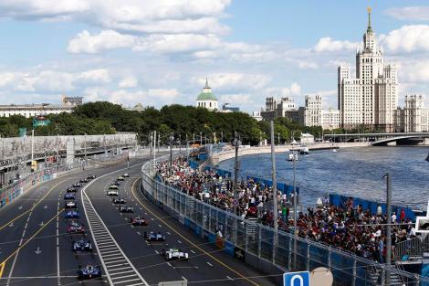 O e-Prix de Moscovo foi ganho por Nelson Piquet Jr.