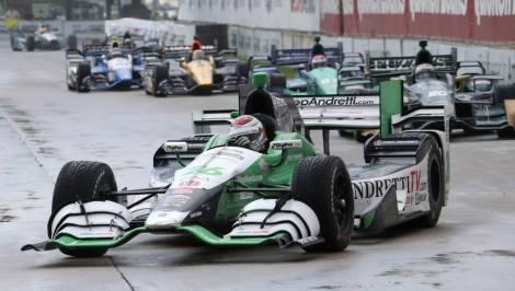 Carlos Muñoz conquistou a sua primeira vitória na IndyCar em Detroit