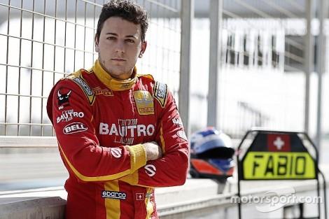 Fabio Leimer é o piloto de reserva da Manor na F1