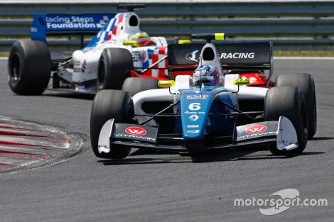 Egor Orudzhev estreou-.se a vencer no Hungaroring