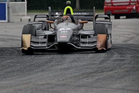 Josef Newgarden venceu pela segunda vez este ano