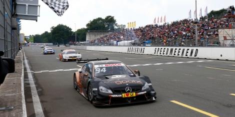 Pascal Wehrlein ganhou a primeira corrida do DTM do Norisring