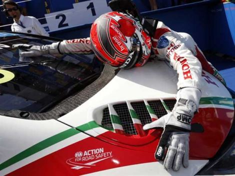 Tiago Monteiro agradece ao Honda ter-lhe permitido vencer