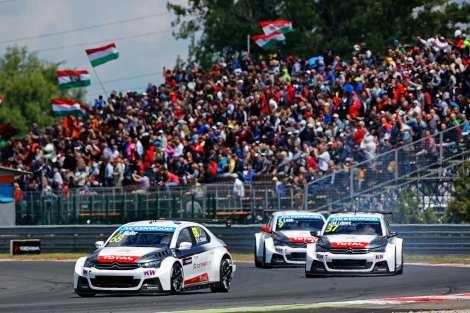 A Citroën monopolizou os pódios no Slovakia Ring