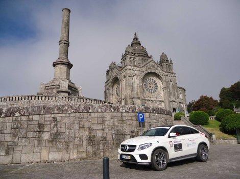 São vários os Santuários e Mosteiros visitados como o de Santa Luzia