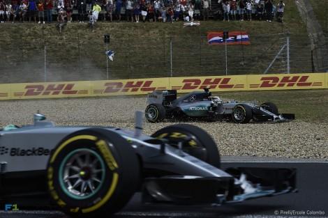 Lewis Hamilton esteve em dia verdadeiramente não