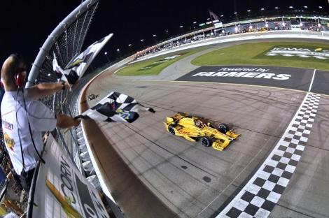 Ryan Hunter-Reay ganhou na IndyCar pela primeira vez este ano