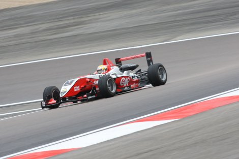 Jules Bianchi dominou a Euro F3 em 2009