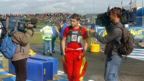 Jules Bianchi começou no 'karting'