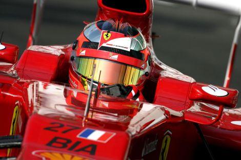 Jules Bianchi era piloto da Ferrari e estava emprestado à Marussia