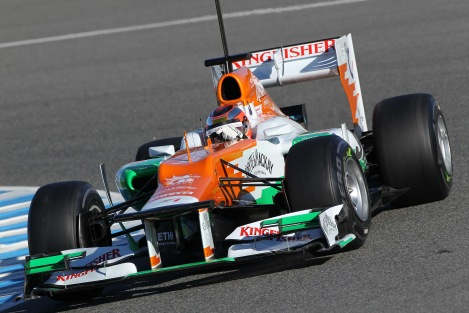 Com a Force India em Jerez (2012)