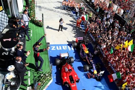 Daniil Kvyat subiu pela primeira vez ao pódio