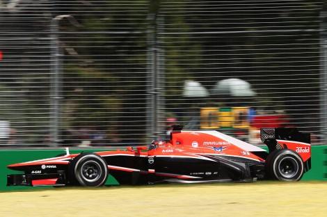 Bianchi foi 15º na sua estreia na F1 em Melbourne 2013