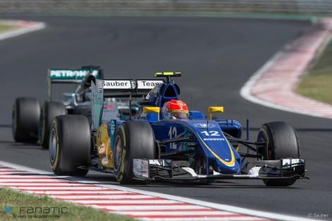 Felipe Nasr voltou a levar o Sauber aos pontos