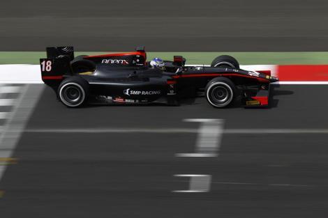Sergey Sirotkin ganhou em Silverstone a sua primeira prova de GP2