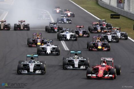 Sebastian Vettel dominou o GP húngaro desde o arranque