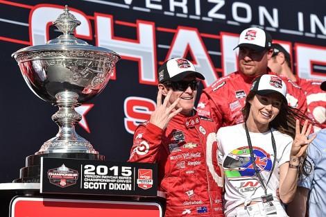 Scott Dixon venceu em Sonoma o seu 4º título na IndyCar
