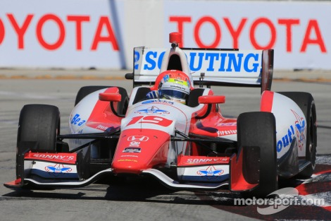 Long Beach 2014: bateu no muro com o pódio garantido