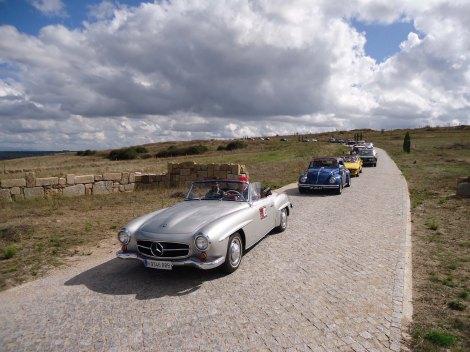 O 2º Encontro Ibérico de Automóveis Clássicos vai ter lugar de 4 a 6 de Setembro