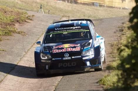 Sébastien Ogier dominou o Rali da Alemanha
