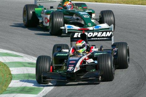 Justin Wilson estreou-se na F1 com a Minardi