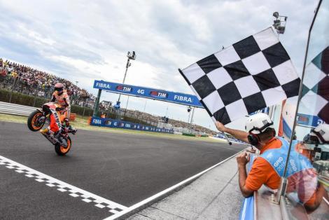 Marc Márquez venceu o GP de San Marino em Misano