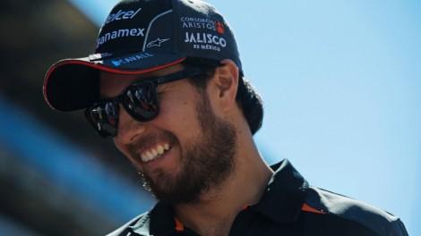 Sérgio Pérez irá continuar na Force India em 2016