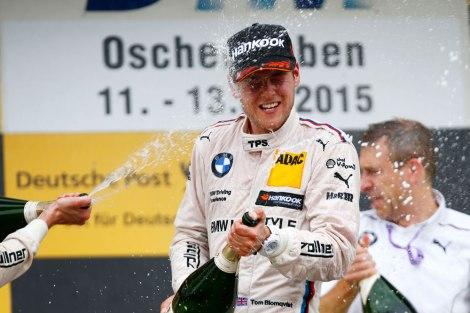 Tom Blomqvist venceu pela primeira vez no DTM