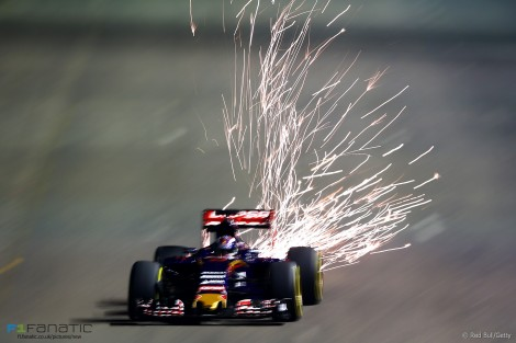 Max Verstappen foi oitavo