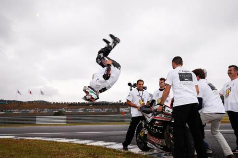 Johann Zarco é o primeiro campeão do Mundo do ano