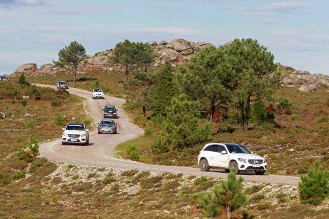 A Mercedes-Benz 4MATIC Experience por ínvios caminhos rumo a Santiago