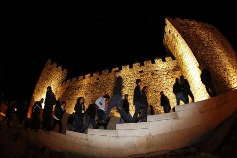 Tudo começou com uma visita nocturna ao castelo de Trancoso