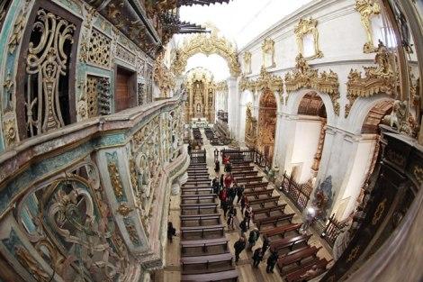 Interior do Mosteiro de Tibães, Braga