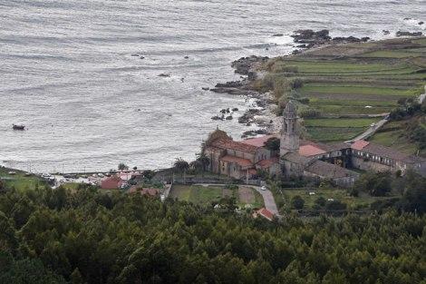 Mosteiro de Oia em Espanha