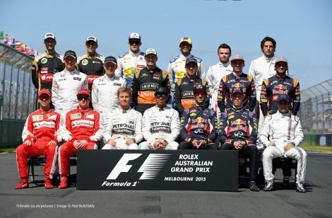 A foto de família dos pilotos de F1 de 2016 já está quase completa