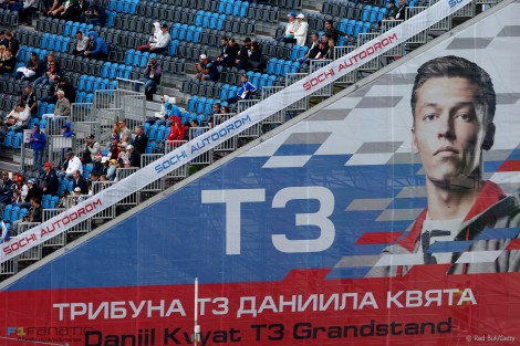 Os fãs de Daniil Kvyat delirararm com o seu 5º lugar inesperado