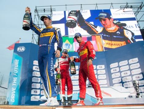 Sébastien Buemi entrou a vencer na segunda temporada de Fórmula E