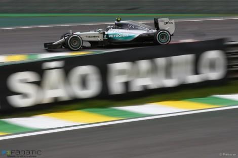 """Nico Rosberg venceu um calmo GP do Brasil e já é """"vice"""""""