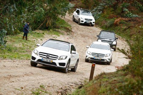 A Mercedes-Benz 4MATIC Experience vai ser este ano na Primavera