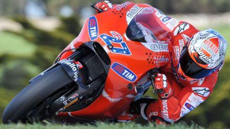 Casey Stoner está de regresso à Ducati