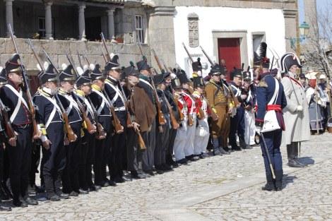 Em Freineda recriaram-se as invasões napoleónicas
